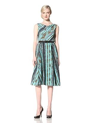 Eva Franco Women's Jolie Dress (Arsenic Stripe)