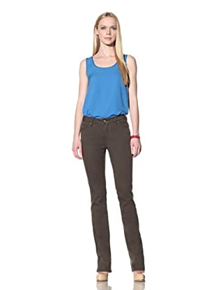 Christopher Blue Women's Goodwin Bootcut Trousers (Thyme)