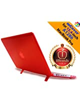 iPearl USA RED mCover Hard Shell Case for MacBook Pro alu15-PRO-red