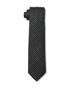 Desanto Men's Scozia Tie, Grey/White