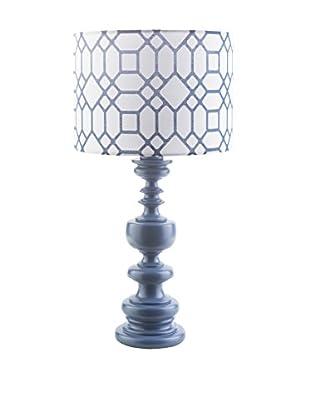 Surya Wilson Outdoor Table Lamp, Cobalt