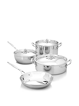 Ruffoni Stainless Steel 7-Piece Cookware Set in Wooden Box