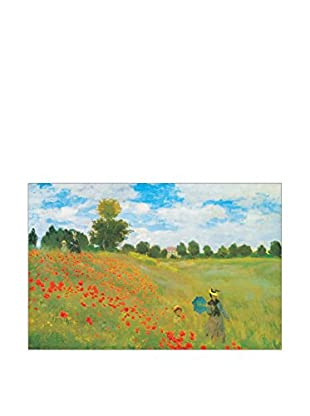 Artopweb Panel Decorativo Monet Champs De Coquelicots 115x175 cm