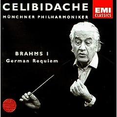 EMI チェリビダッケ指揮 ブラームス交響曲第1番&ドイツ・レクイエムの商品写真