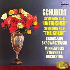 スクロヴァチェフスキ指揮 シューベルト交響曲《未完成》&《ザ・グレート》の商品写真