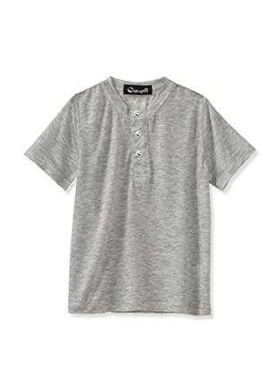 A for Apple Candy Henley Tee (Grey)