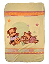 Blanket for warmth to your growing baby. MM-98031 Cream