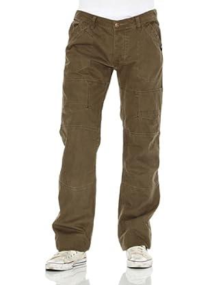 Kolapso Pantalón Casual Fit (Verde)