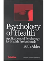 Psychology Of Health Applicati