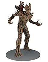 MARVEL Guardians of the Galaxy: Rocket and Groot Statue