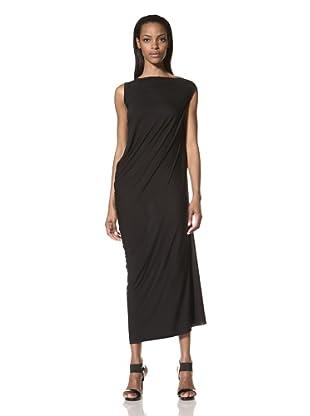 Rick Owens Lilies Women's Side Drape Dress (Black)