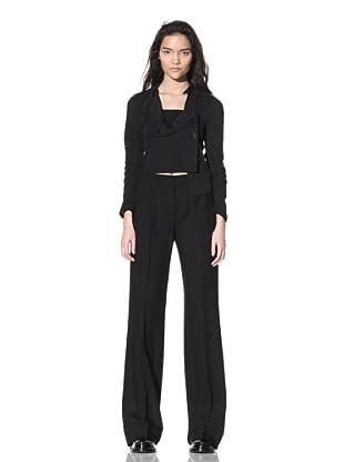 Ann Demeulemeester Women's Wide Leg Trousers (Black)