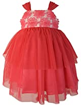 Faye Water Melon Pink Occasion Dress 8-9 Y
