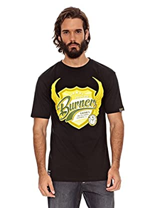 Grimey Wear Camiseta Burners (Negro)