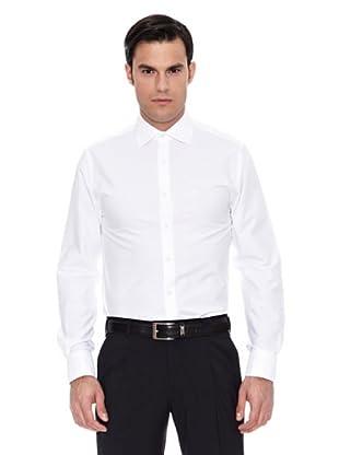 Pedro del Hierro Camisa Non Iron Otoman Blanco C/Popelin G (Blanco)