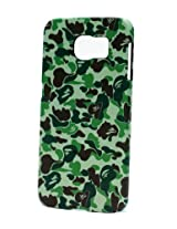 Fonokase Case for Samsung Galaxy S6 S 6 Army Series Hard Back + Screen Guard