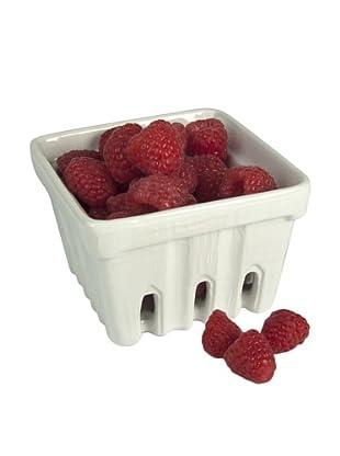 Artland Set of 4 Berry Baskets, White