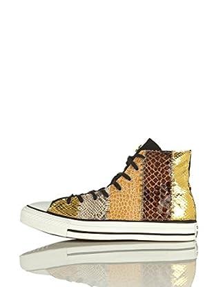 Converse Zapatillas All Star Hi Limited (Oro / Marrón)