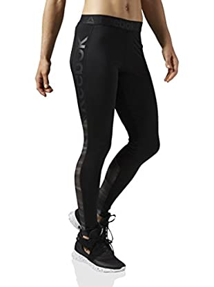 Reebok Leggings Wor Show Mesh Logo Tight