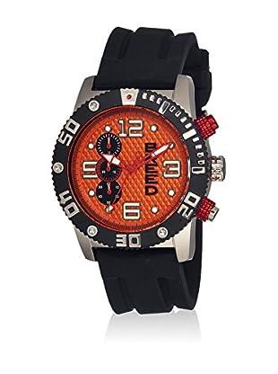 Breed Reloj con movimiento cuarzo japonés Brd3904 Negro 45  mm