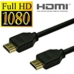 Storite Super Slim HDMI Cable TV Lead 1.4 High Speed Ethernet 3D Full HD 1080p - Support All HDMI Devices (1.5M - 150 cm - 4.5 Foot) - Black