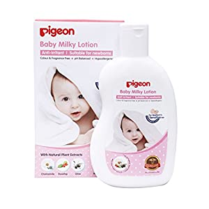 Pigeon 200ml Baby Milky Lotion