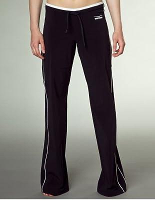 Venice Beach Damen Active-Pants, lang Jupiter (Black)