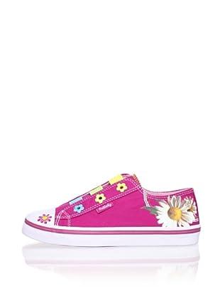 Pablosky Kid's Flower Sneaker (Red)
