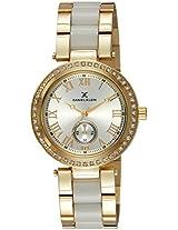 Daniel Klein Analog Silver Dial Women's Watch - DK10801-1
