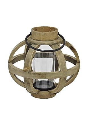 Three Hands Wood Lantern