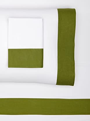 Nine Space Viscose from Bamboo Sheet Set (Olive)