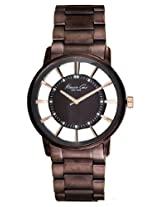 Kenneth Cole Analog Brown Dial Men's Watch - IKC9047