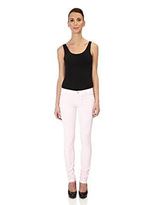 J Brand Hose Japanese Twill Low Rise Pencil Leg (prettypink)