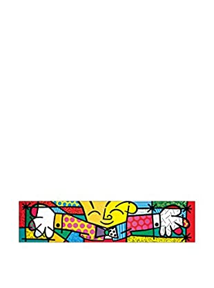 Artopweb Panel Decorativo Britto The Hug 33x136 c m Multicolor