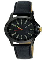 Fastrack Commando Analog Black Dial Women's Watch - 6071NL01