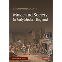 Music and Society in Early Modern England with Audio CD