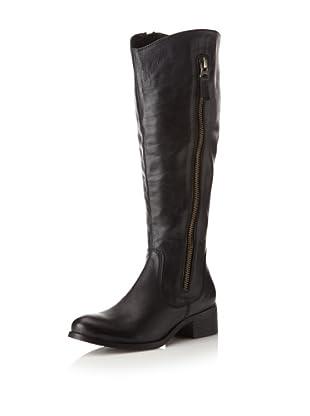 Chocolat Blu Women's Norman Side Zip Long Boot (Black)