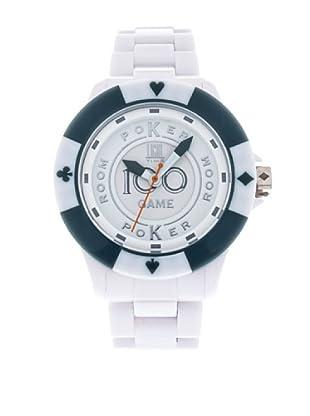 Light Time Reloj Poker Blanco / Azul