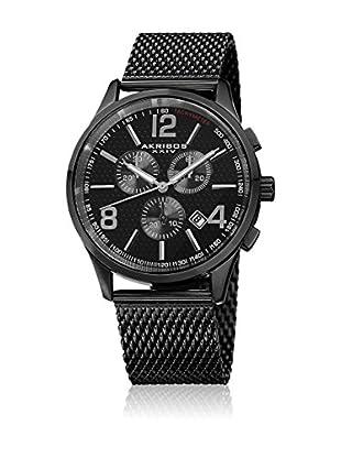 Akribos XXIV Uhr mit schweizer Quarzuhrwerk Man AK719BK 43.0 mm