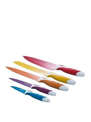 Magefesa Set 5 Cuchillos Con Revestimiento Cerámico