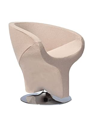 International Design USA Diamond Leisure Chair, Coffee