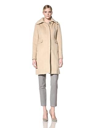 Ivanka Trump Women's Hooded Coat (Gold/Pearl)