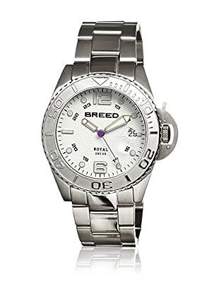 Breed Reloj con movimiento cuarzo suizo Brd4801 Plateado 42  mm