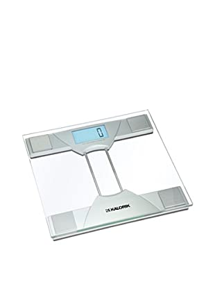 Kalorik Electronic Bathroom Scale, Silver/Clear