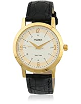 Ti000T10000 Black/White Analog Watch Timex