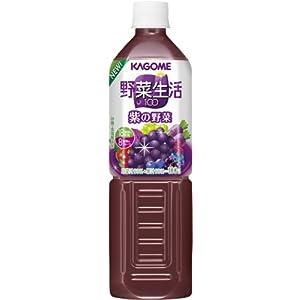 (お徳用ボックス) 野菜生活100 紫の野菜 930g×12本