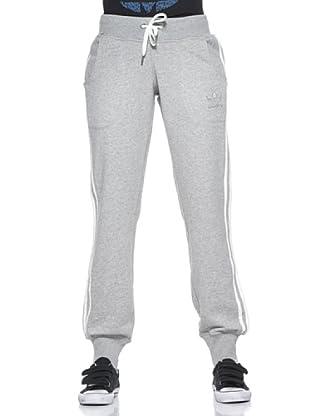 adidas Pantalón Slim (Gris)