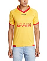 Nivia World Cup Jersey Spain Single Color, Extra Large