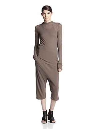 Rick Owens Women's Hooded T-Shirt (DNA Dust)