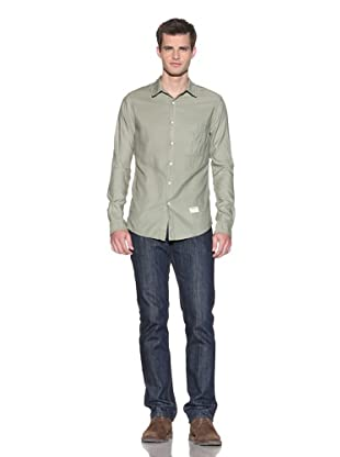 Aviator Men's The James Woven Shirt (Olive)